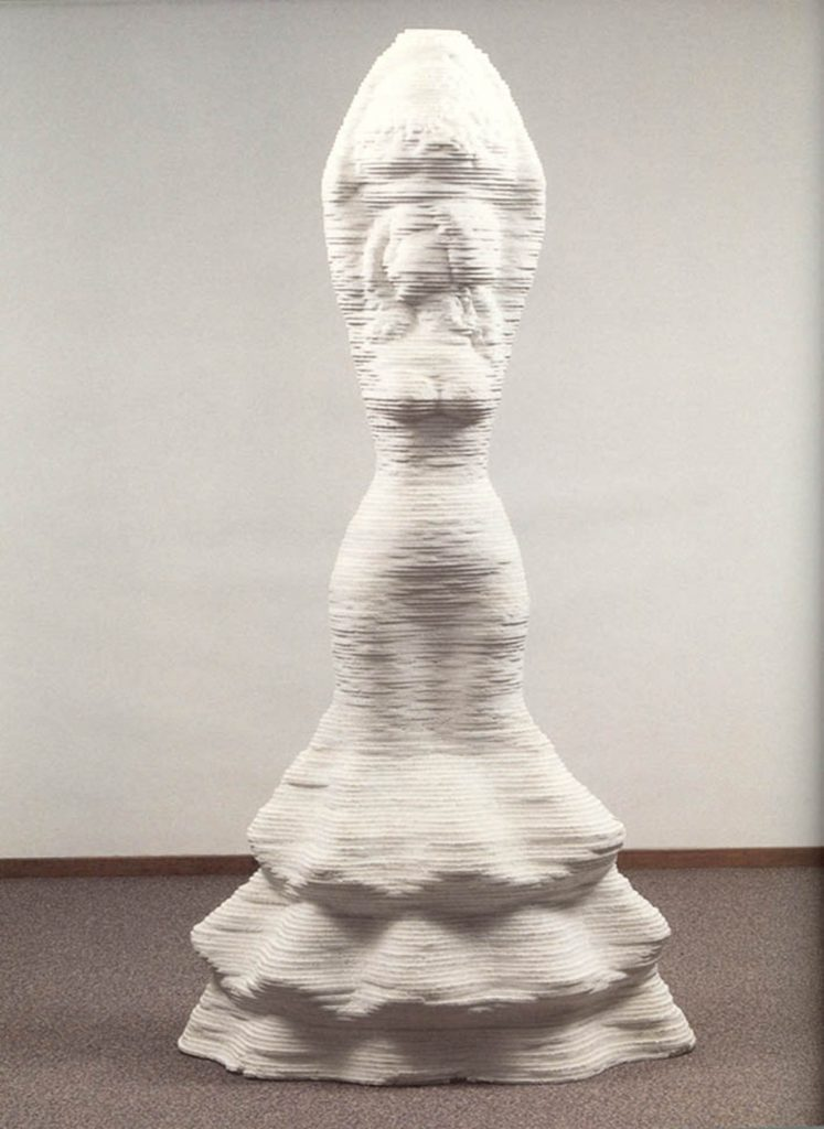Hoogte 180 cm, collectie ABN Amro Amsterdam